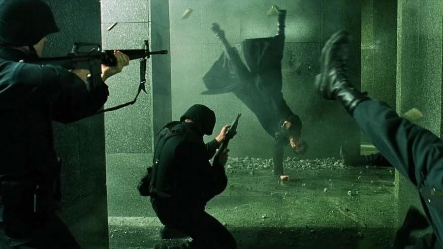 The Matrix e l'uso dei cambi scena