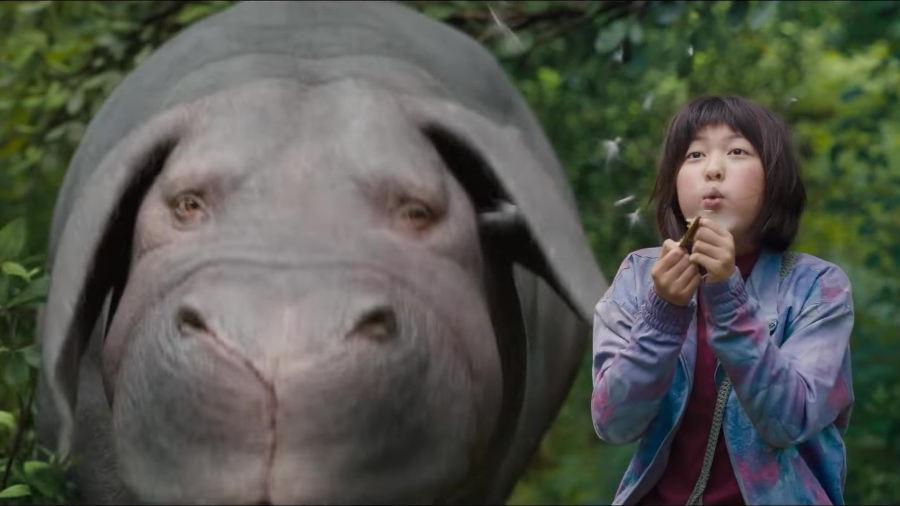 Okja: il primo trailer e il delirio a Cannes