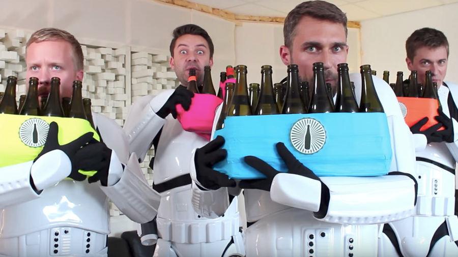 The Bottle Boys e la marcia imperiale di Star Wars
