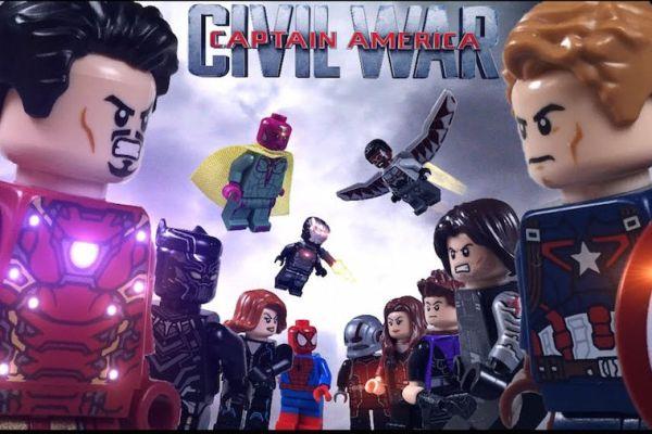 Un mini LEGO movie anche per Capitan America: Civil War
