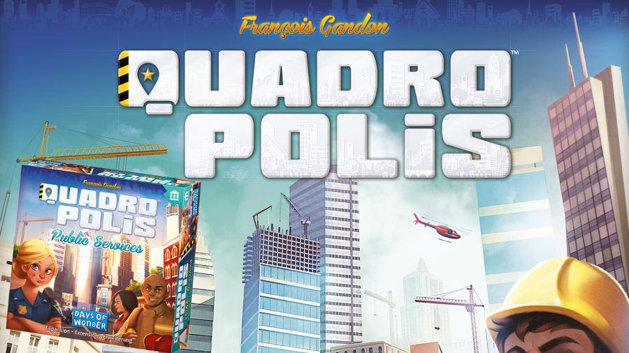 Lo spacciagiochi: Quadropolis + espansione Servizio pubblico