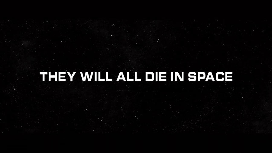 Il corto: They Will All Die In Space