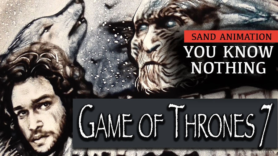 You know nothing: Game of Thrones di… sabbia