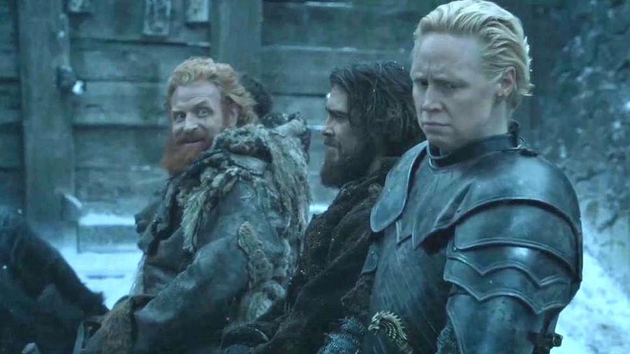 Game of Thrones: la storia degli sguardi tra Tormund e Brienne