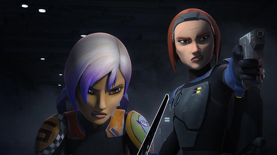 Il ritorno di Bo-Katan in Star Wars Rebels