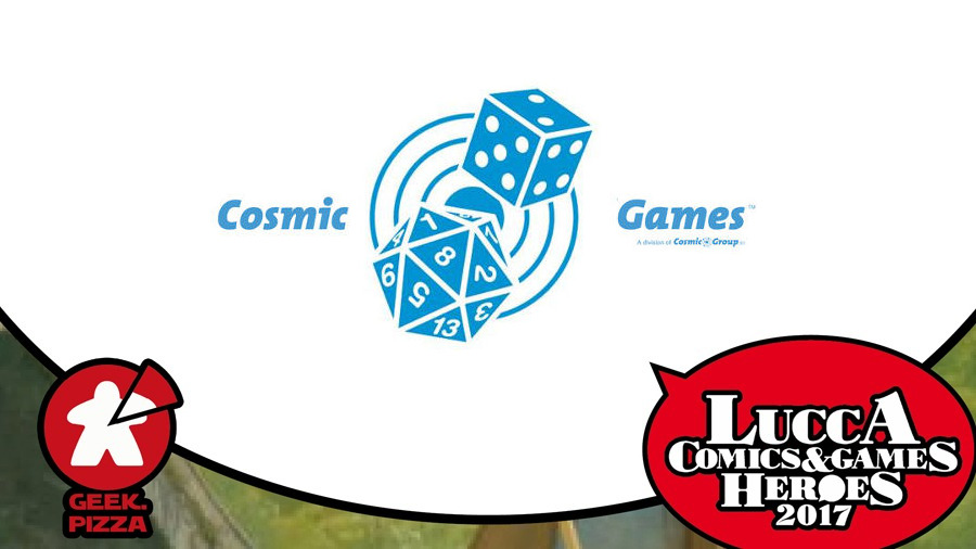 Verso Lucca C&G 2017 – Cosmic Games