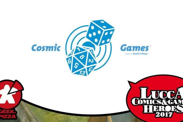 Verso Lucca C&G 2017 – Cosmic Games