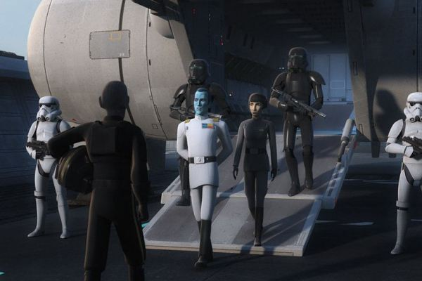 Star Wars Rebels: Hera e Kanan interrotti sul più bello, Ezra e Sabine Vs Thrawn