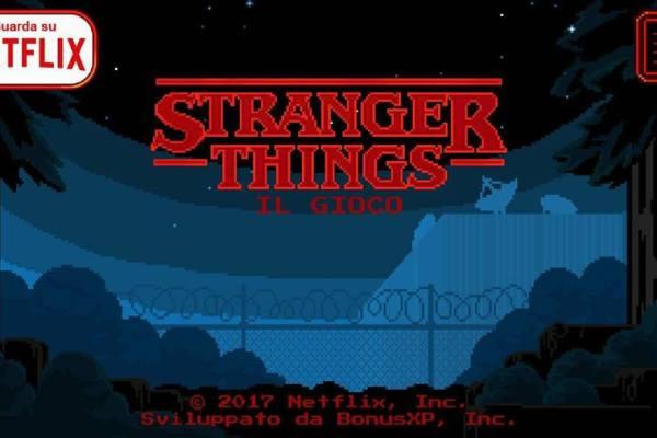 Stranger Things prende vita grazie al videogioco