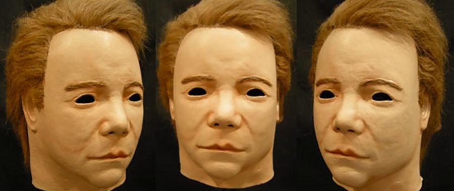 Shatner e la maschera di Halloween