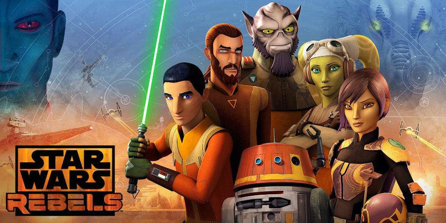 Star Wars Rebels: Kanan chiede a Ezra di salvare Hera nel teaser degli episodi conclusivi