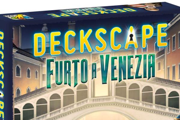 Anteprima: Deckscape – Furto a Venezia