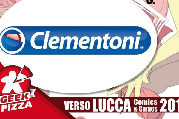 Verso Lucca Comics & Games 2018 – Clementoni