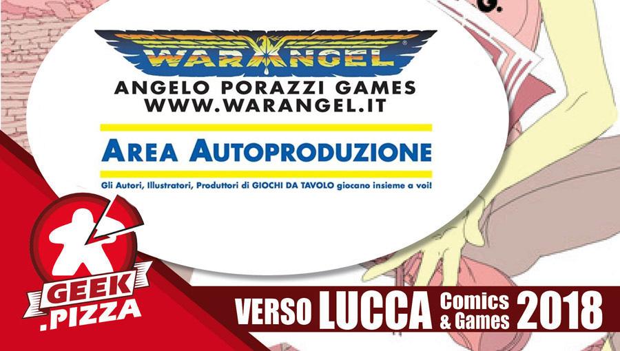 Verso Lucca Comics & Games 2018 – Area autoproduzione