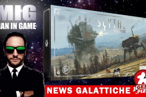 MIG News Galattiche: Scythe – In arrivo i Mech metallici!