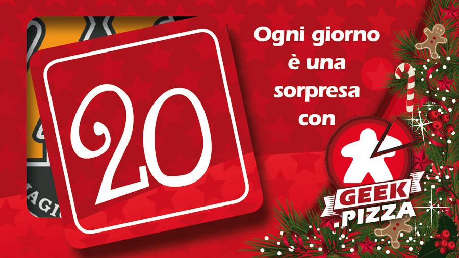 Calendario dell'Avvento di Geek.pizza 20: in regalo un buono sconto di MagicMerchant.it