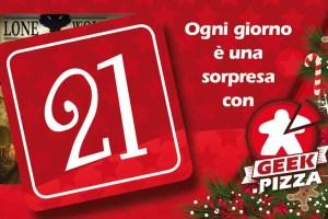 Calendario dell'Avvento di Geek.pizza: 21 Una scheda-segnalibro per Lupo Solitario