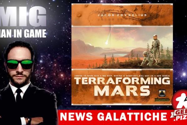 Terraforming Mars Legacy è in sviluppo! Ma non solo!