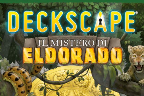 Lo spacciagiochi – Deckscape – Il mistero di Eldorado