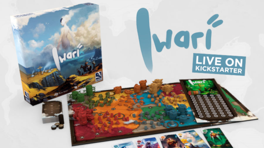 Anteprima – Iwari su Kickstarter
