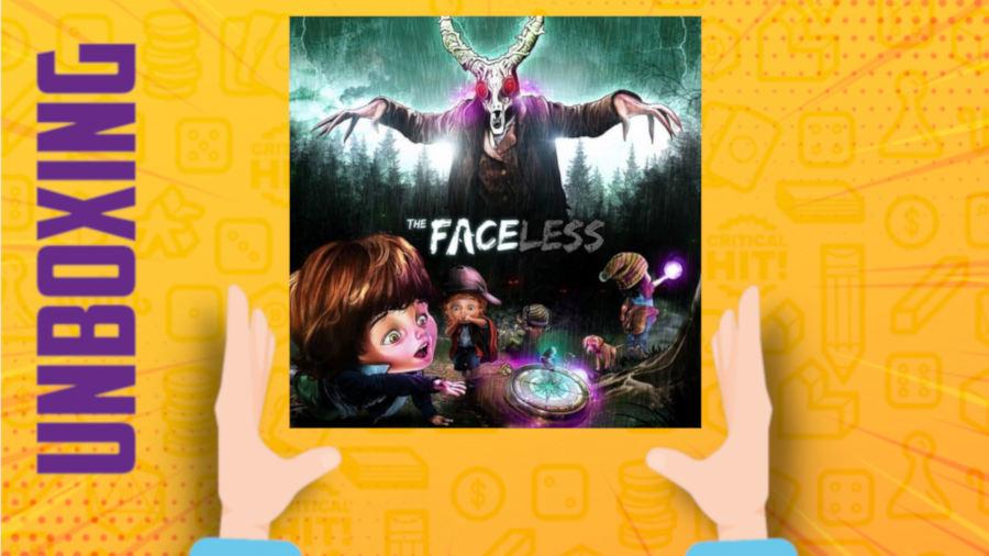 The Faceless – Kickstarter Edition – Unboxing