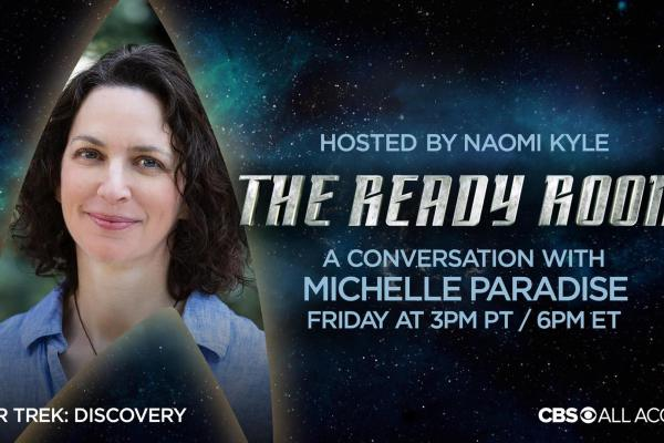 Star Trek Discovery: Michelle Paradise ospite a 'The Ready Room'