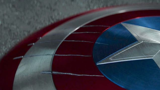 Scudo di Captain America in Captain America: Civil War