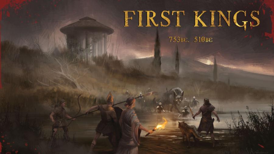 Primi Re/First Kings, ancora pochi giorni per il kickstarter del GDR ambientato nell'antica Roma