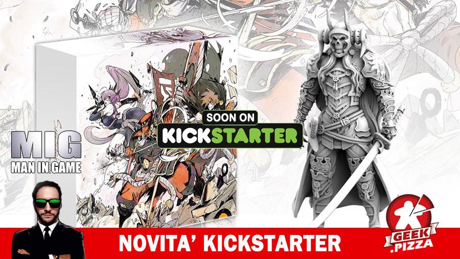 MIG Novità Kickstarter: Sankokushin – Five Sacrifices