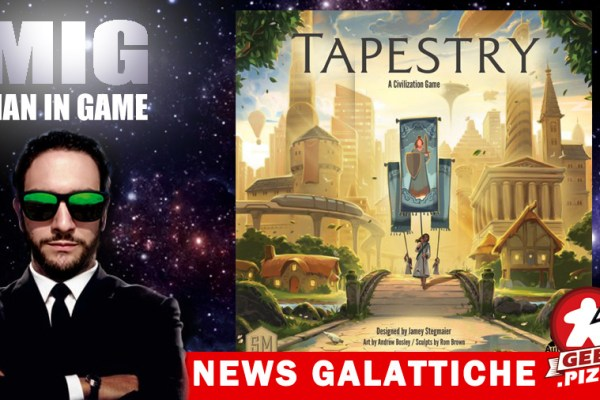 MIG News Galattiche: Stonemaier Games annuncia Tapestry!