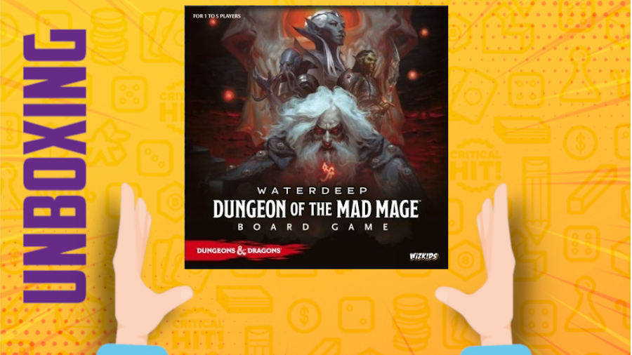 Il dungeon del mago folle – Unboxing