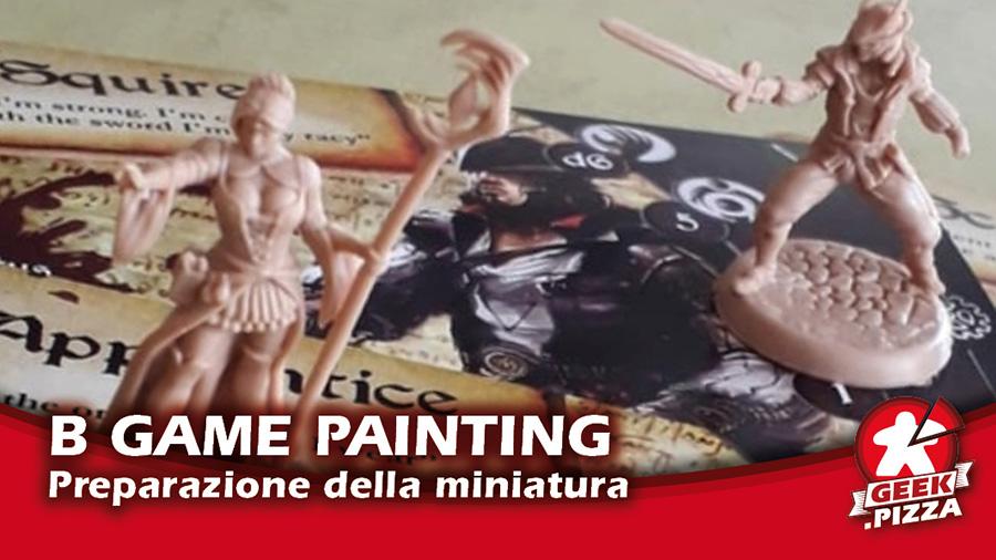 Board Game Painting: preparare le miniature