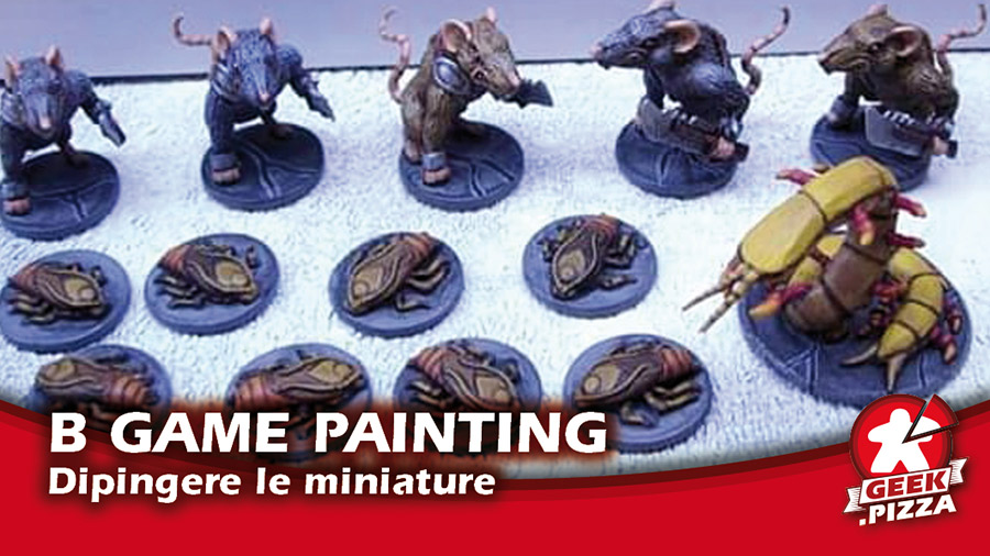 Board Game Painting: dipingere le miniature