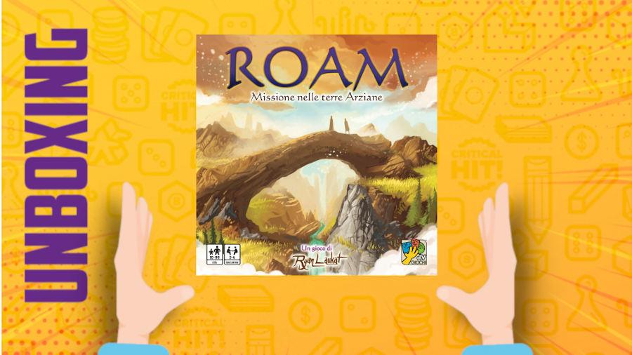 Roam – Unboxing
