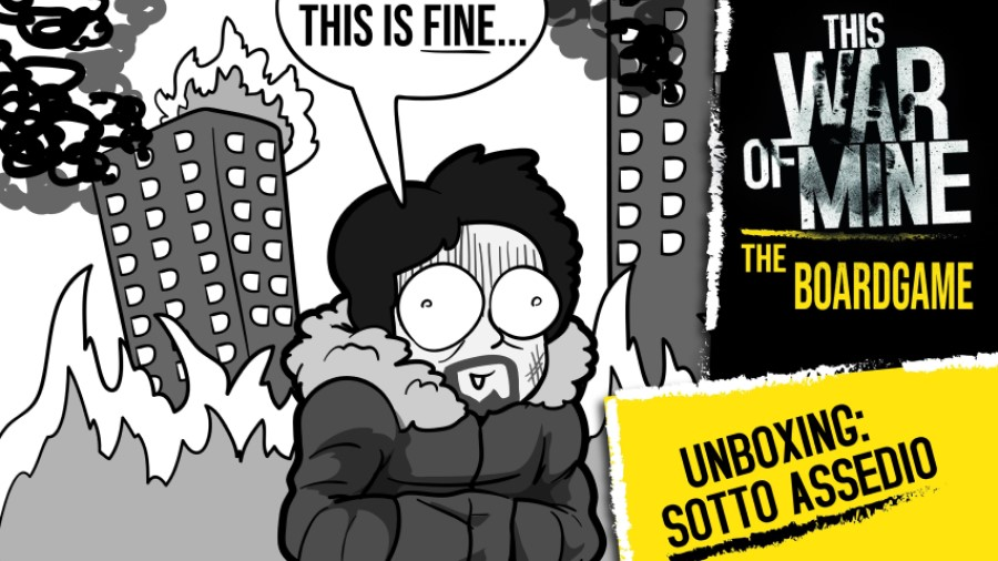 This War of Mine: Sotto Assedio – Unboxing