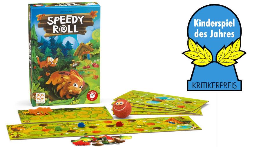 Il miglior gioco per bambini del 2020: Speedy Roll, secondo il Kinderspiel des Jahres