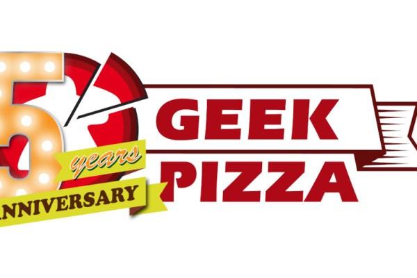 Cinque anni di Geek.pizza