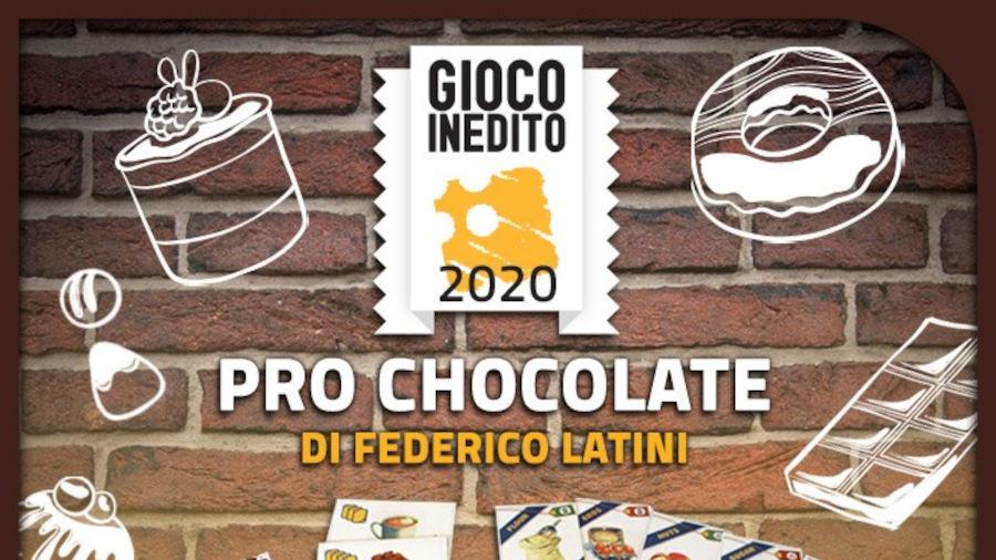 Pro Chocolate è il Gioco Inedito 2020 per Lucca C&G e dV Giochi