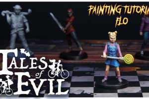 Kiki's Miniatures Mania – Tales of Evil ep.3 – Come dipingere Flo