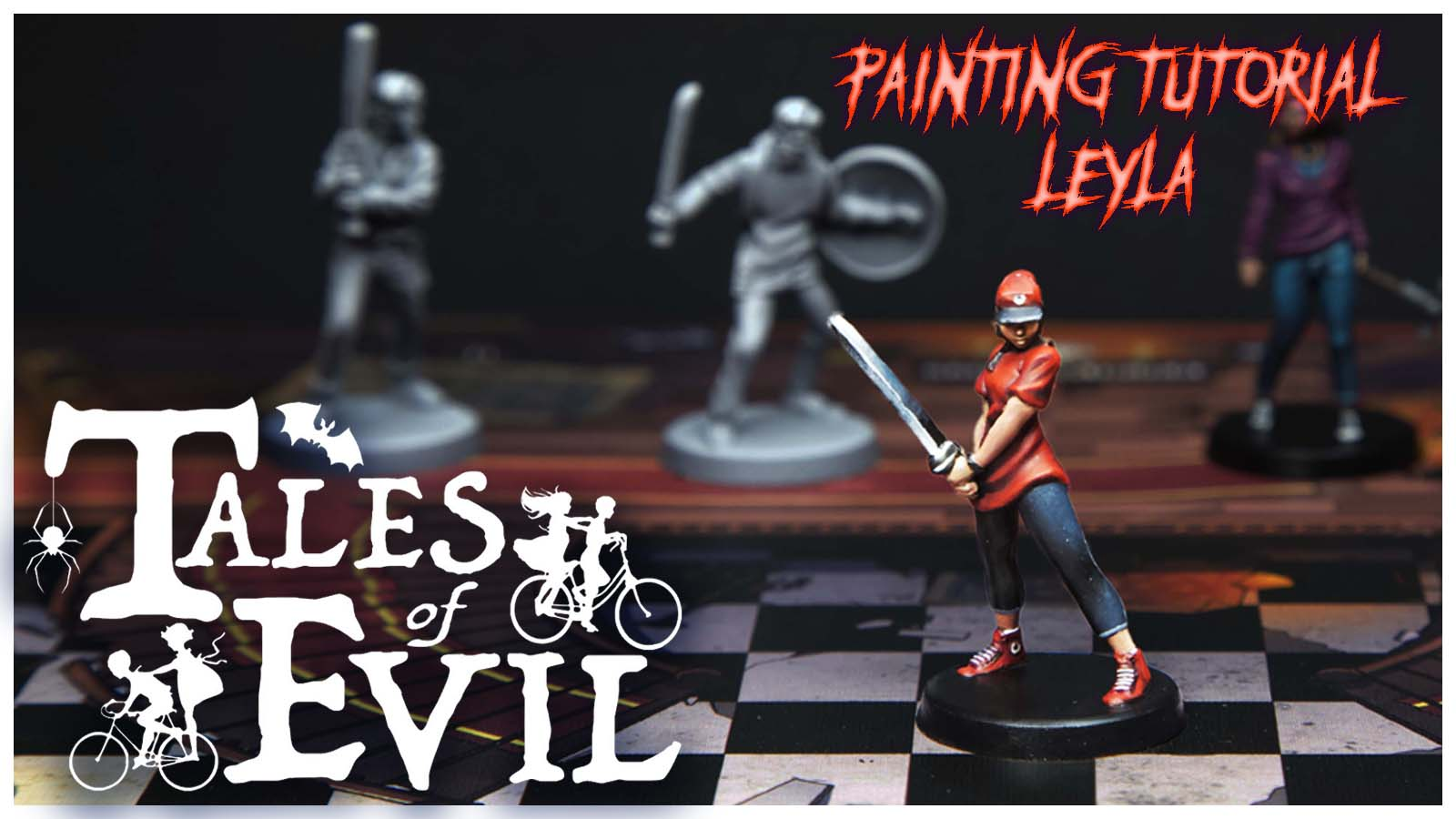 Kiki's Miniatures Mania – Tales of Evil ep.2 – Come dipingere Leyla