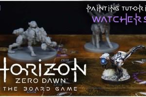 Kiki's Miniatures Mania – Horizon Zero Dawn ep.1 – Come dipingere le Vedette