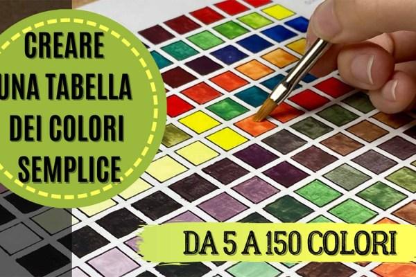 Kiki's Miniatures Mania – Come creare una tabella dei colori semplice