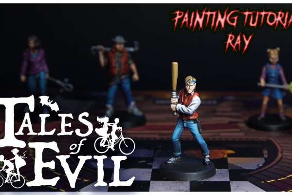 Kiki's Miniatures Mania – Tales of Evil Ep. 6 – Come dipingere Ray