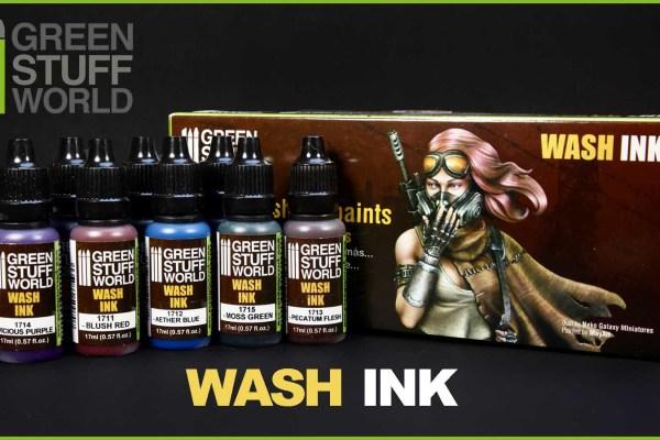 Kiki's Miniatures Mania – Proviamo insieme il set di Acrylic Wash Ink