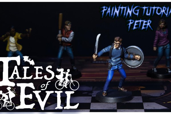 Kiki's Miniatures Mania – Tales of Evil Ep. 7 – Come dipingere Peter