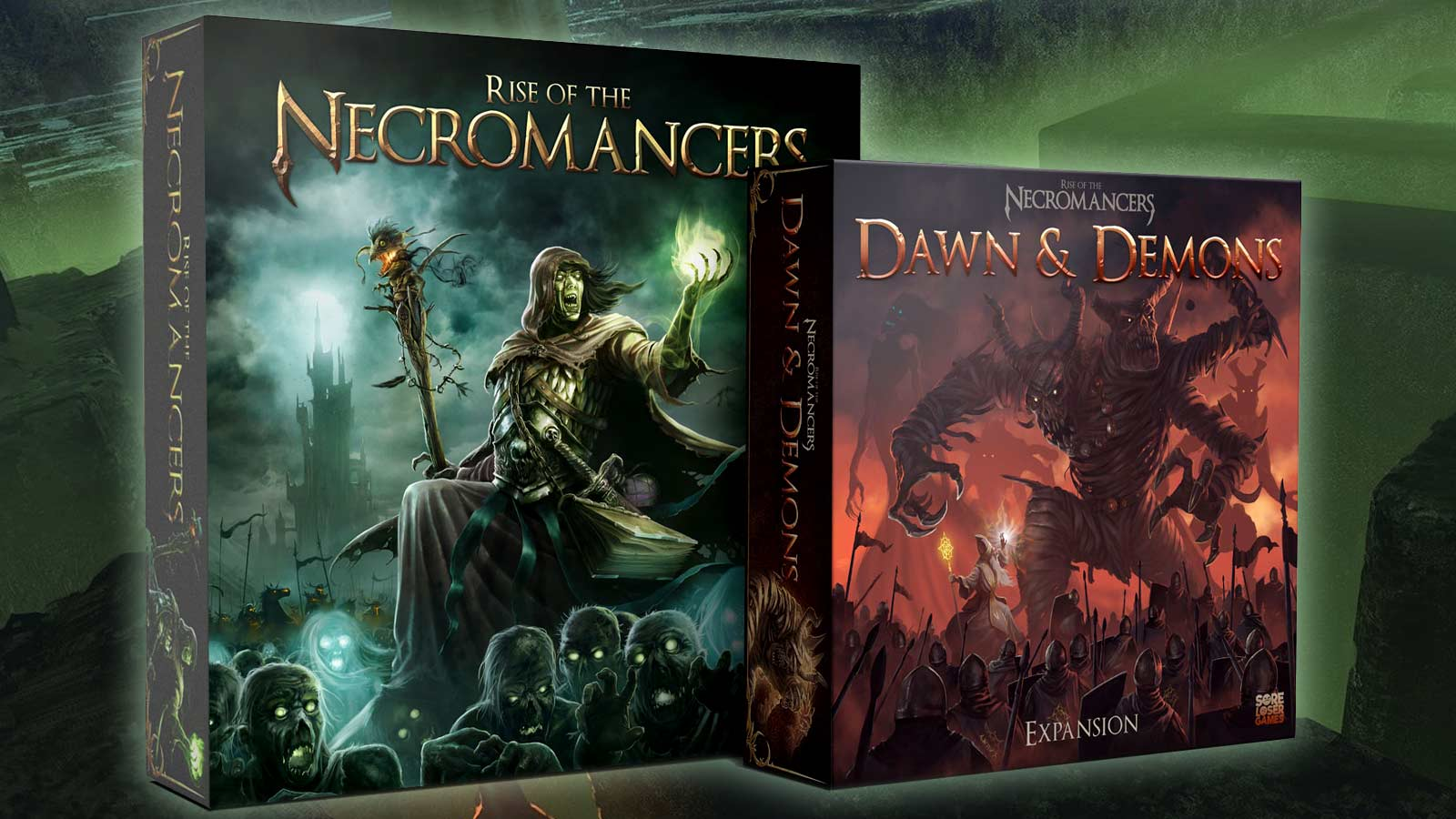 Rise of the Necromancers e Dawn & Demons – Unboxing
