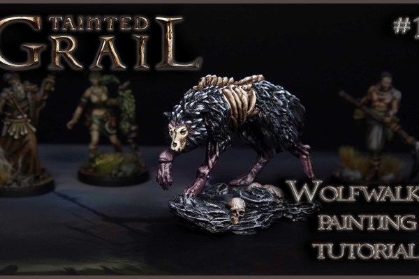 Kiki's Miniatures Mania – Tainted Grail ep.10 – Come dipingere il Wolfwalker