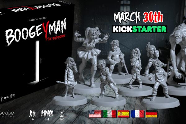 Boogeyman è online su Kickstarter, ora!
