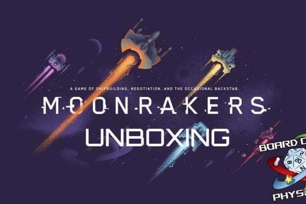 Moonrakers – Unboxing della versione Kickstarter