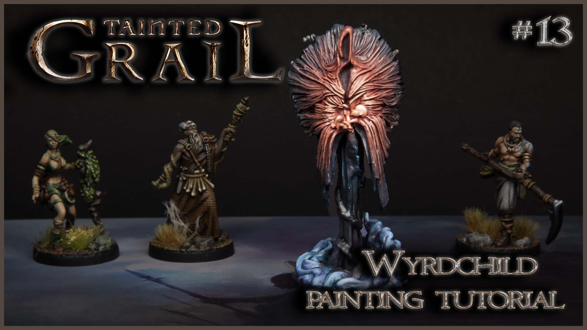 Kiki's Miniatures Mania – Tainted Grail ep.13 – Come dipingere WyrdChild